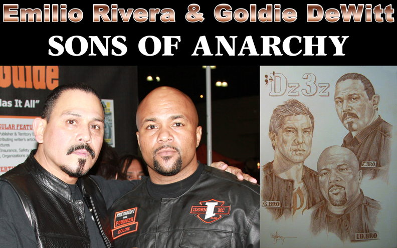 Emilio Rivera on Sons of Anarchy