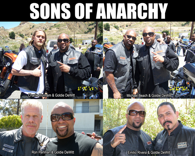 sons of anarchy 1down motorcycle club. Black Bedroom Furniture Sets. Home Design Ideas