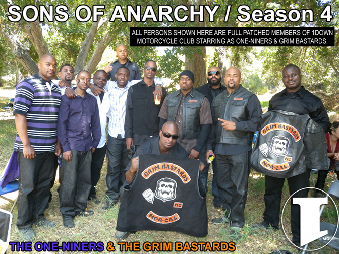 1DOWN MC Featured on Sons of Anarchy
